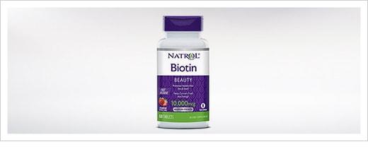 فوائد فيتامين البيوتين للشعر والجيم